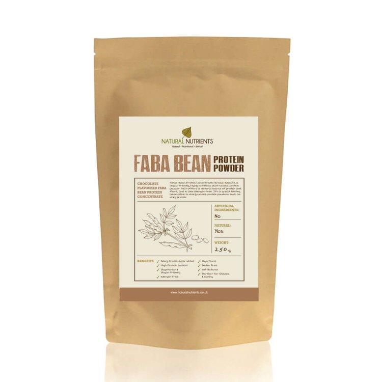 Chocolate Faba Bean Protein Powder 250g (Vegan)