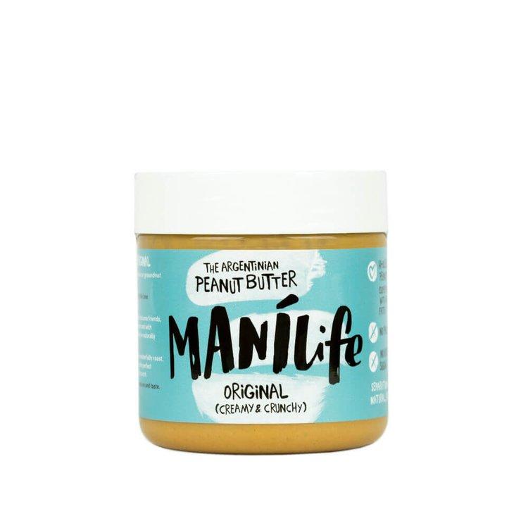 ManíLife Crunchy Peanut Butter 295g (Argentinian Hi-oleic, Original Creamy & Crunchy)
