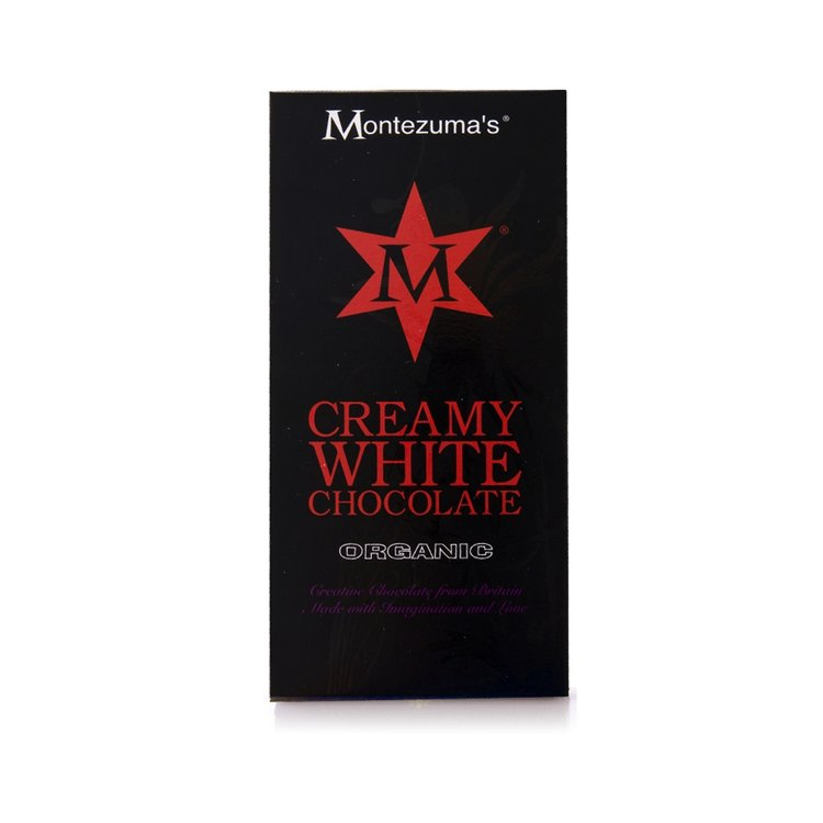 Organic White Chocolate Bar 100g