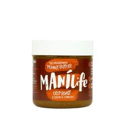 ManíLife Deep Roast Peanut Butter 295g (Argentinian Hi-oleic, Creamy & Crunchy)