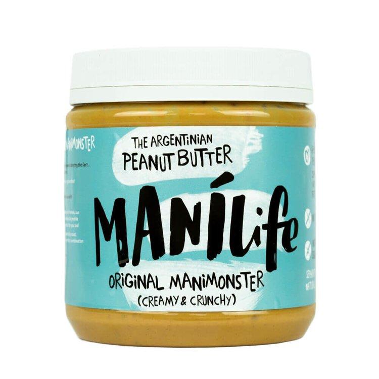 ManíLife Crunchy Peanut Butter 1kg (Argentinian Hi-oleic, Original Creamy & Crunchy)
