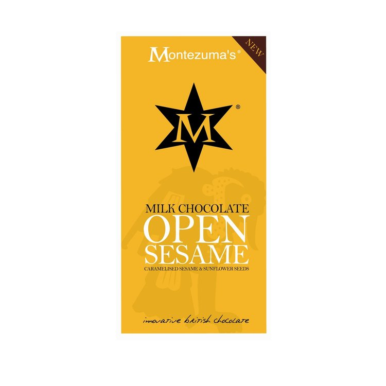 Milk Chocolate Open Sesame Bar 100g