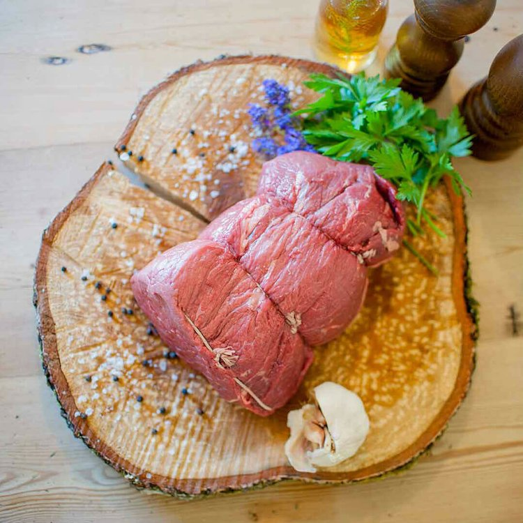 2kg Organic Grass Fed Topside Beef Joint (Large)