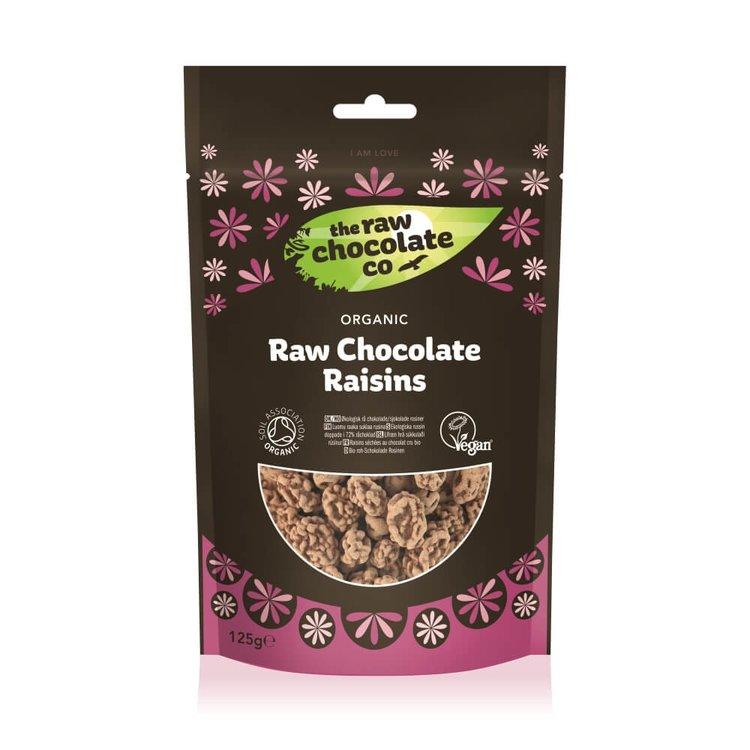 Organic Raw Chocolate Raisins 125g