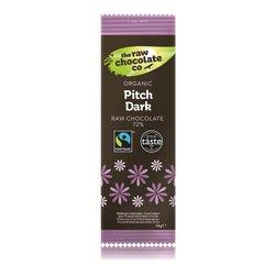 Organic Pitch Dark 72% Raw Chocolate Bar 44g