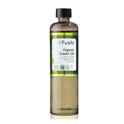 Organic Castor Oil by Fushi 100ml (Cold Pressed)
