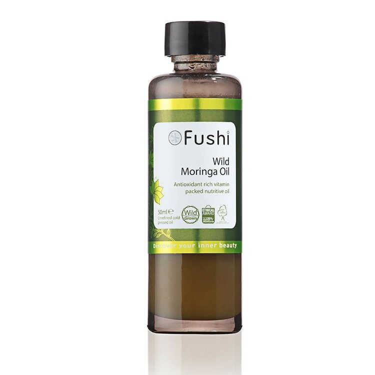 Organic Wild Moringa Seed Oil by Fushi 50ml (Cold Pressed)