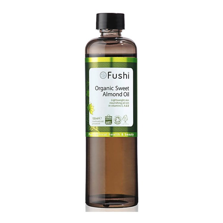 Sweet Almond Oil by Fushi 100ml (Organic, Cold Pressed)