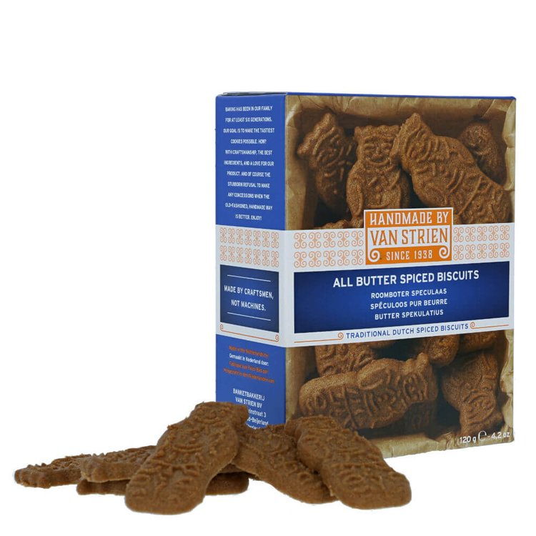 2 x Butter Spiced Biscuits 120g - Traditional Dutch Biscuits with 'Speculaas' Spices