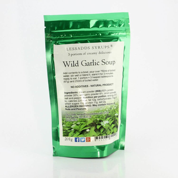 Creamy Wild Garlic Soup 201g (Makes 3 Portions, Just Add Water)
