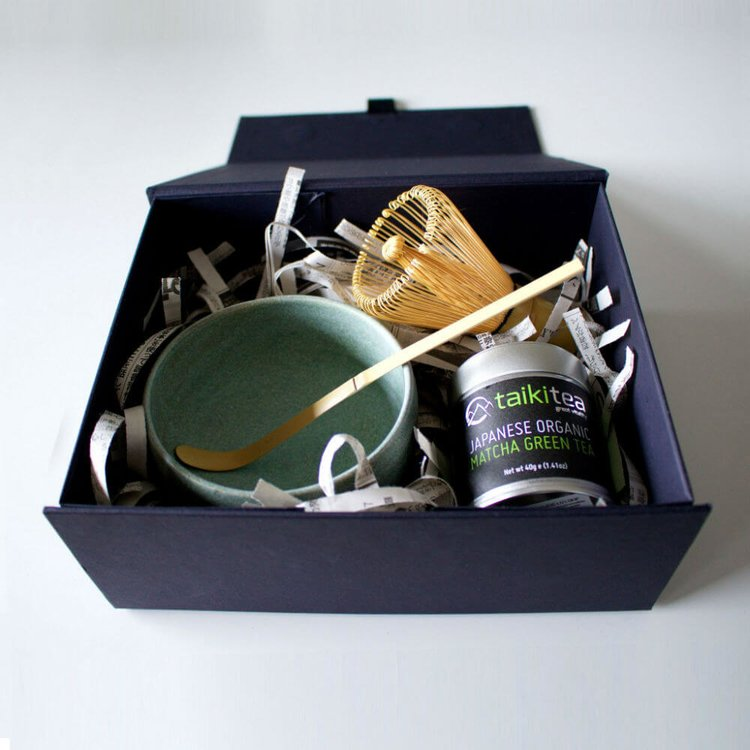 Ceremonial Matcha Green Tea Gift Set designed by Anna Starr