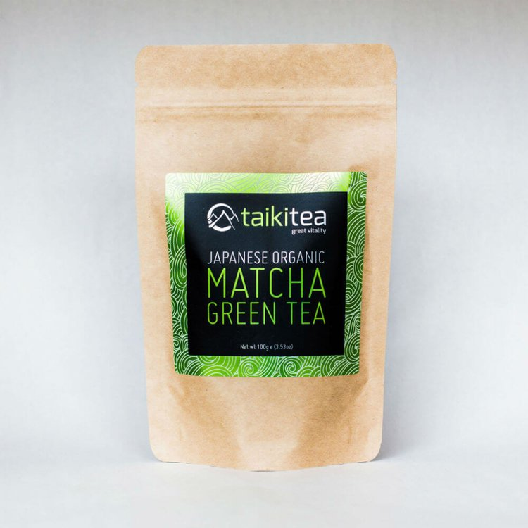 Premium Matcha Green Tea Packet 100g (Organic)