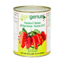 San Marzano Tinned Plum Tomatoes PDO 2550g (Slow Food)