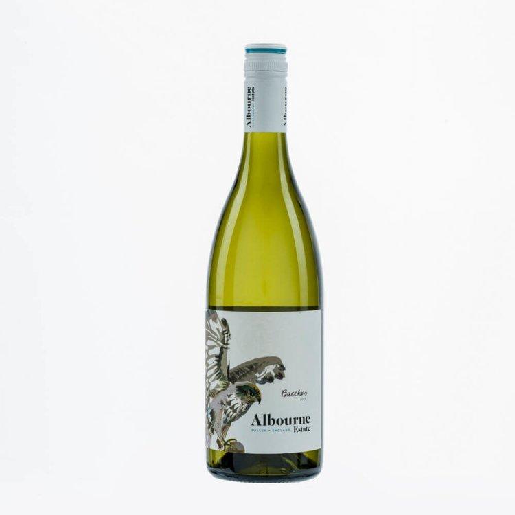 Bacchus English White Wine 2015 by Albourne Estate 12% Vol.