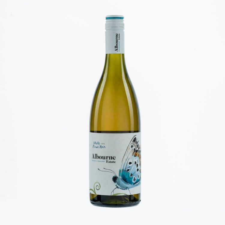Pinot Noir White English Wine by Albourne Estate 12% Vol.
