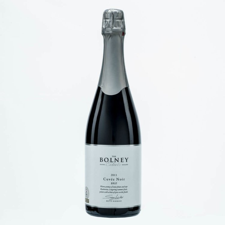 Cuvée Noir Red English Sparkling Wine 2011 75cl by Bolney Estate 12.5% Vol.