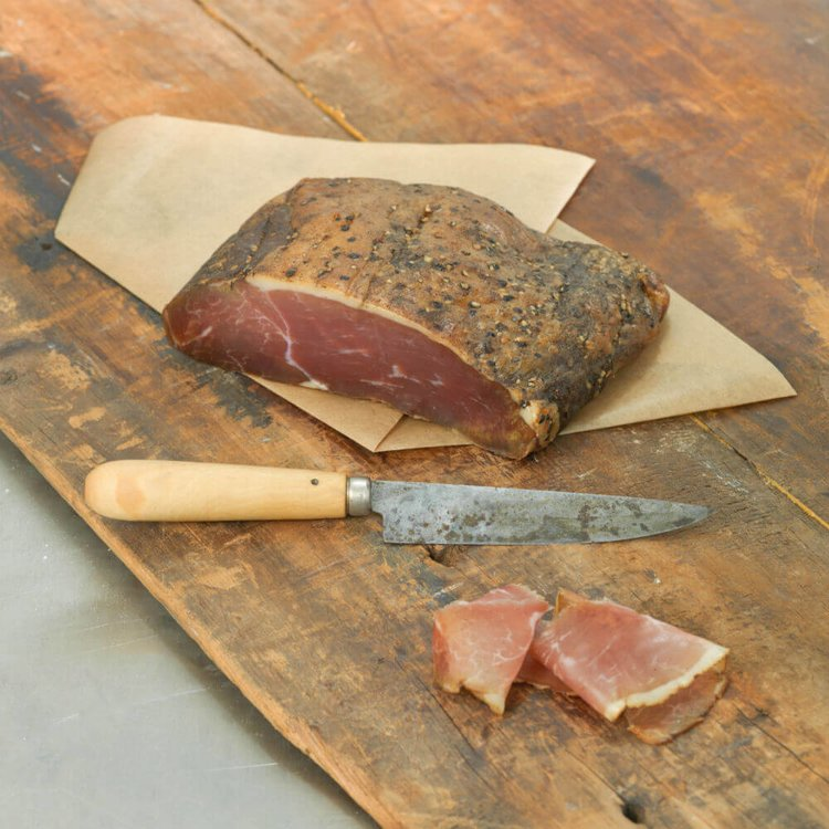 Sussex Downs Smoked Sliced Ham 100g by Calcot Farm