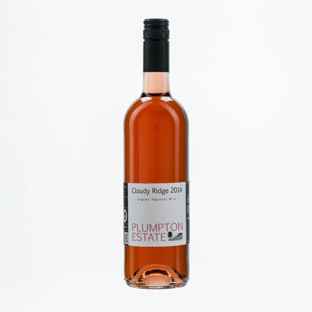 Cloudy Ridge Rose English Wine By Plumpton Estate