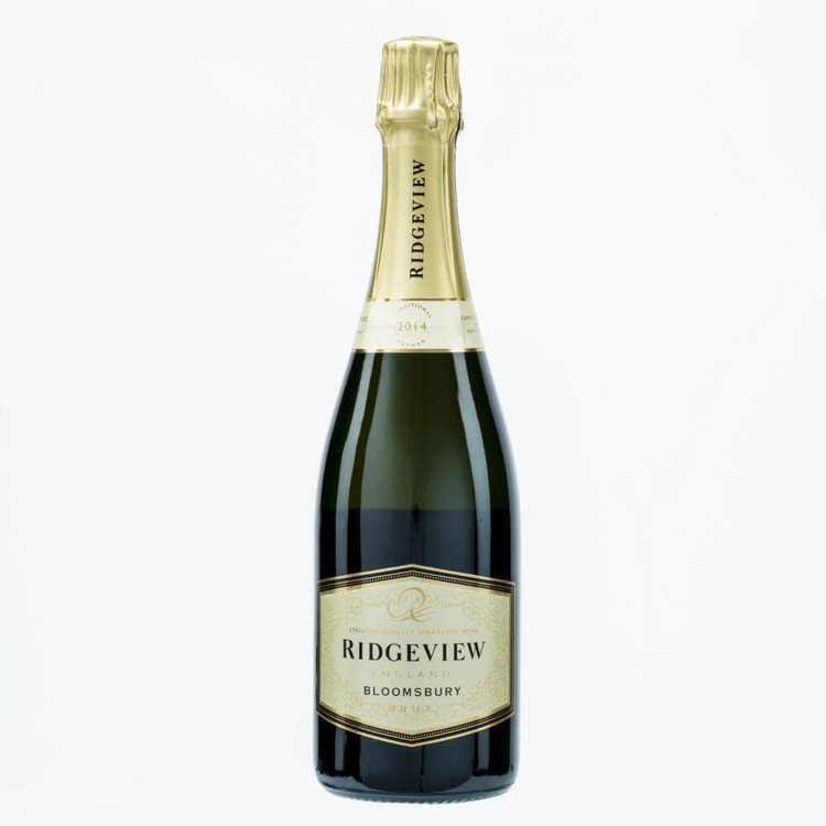 Bloomsbury Sparkling English Wine 2014 75cl by Ridgeview 12% Vol.