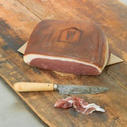 'Royale' British Prosciutto Style Sliced Ham 100g by Woodalls Charcuterie