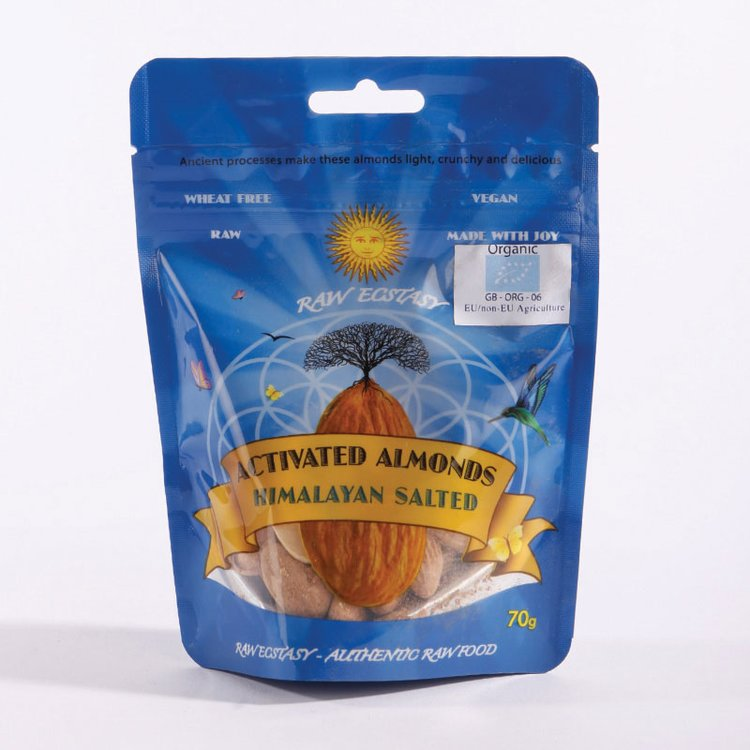 Organic Activated Salted Almonds 70g