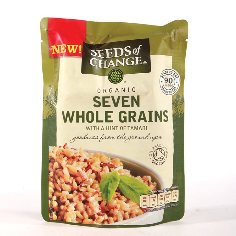 Organic Seven Wholegrain Rice 240g