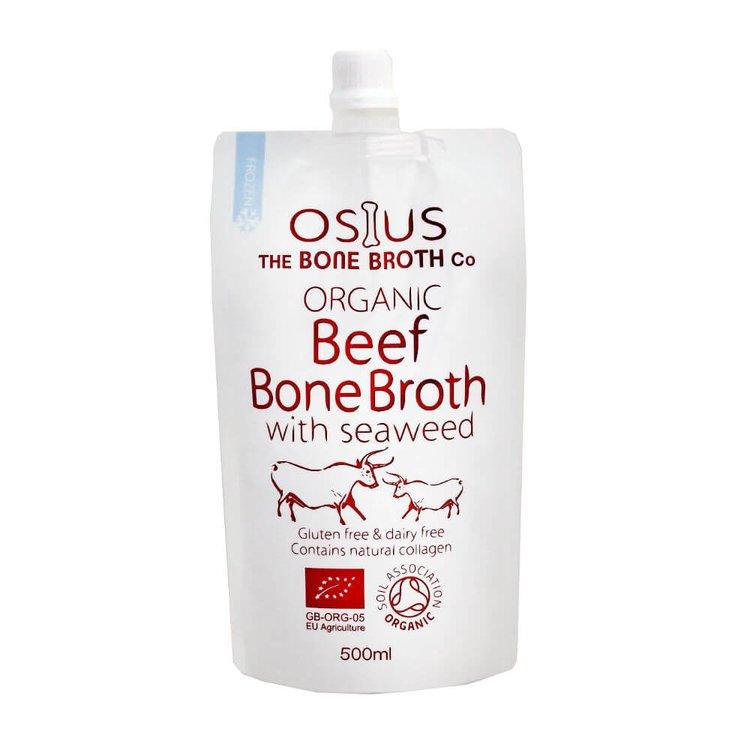 Organic Beef Bone Broth with Seaweed 500ml by Osius
