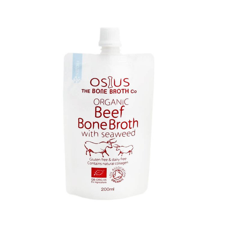 Organic Beef Bone Broth with Seaweed 200ml