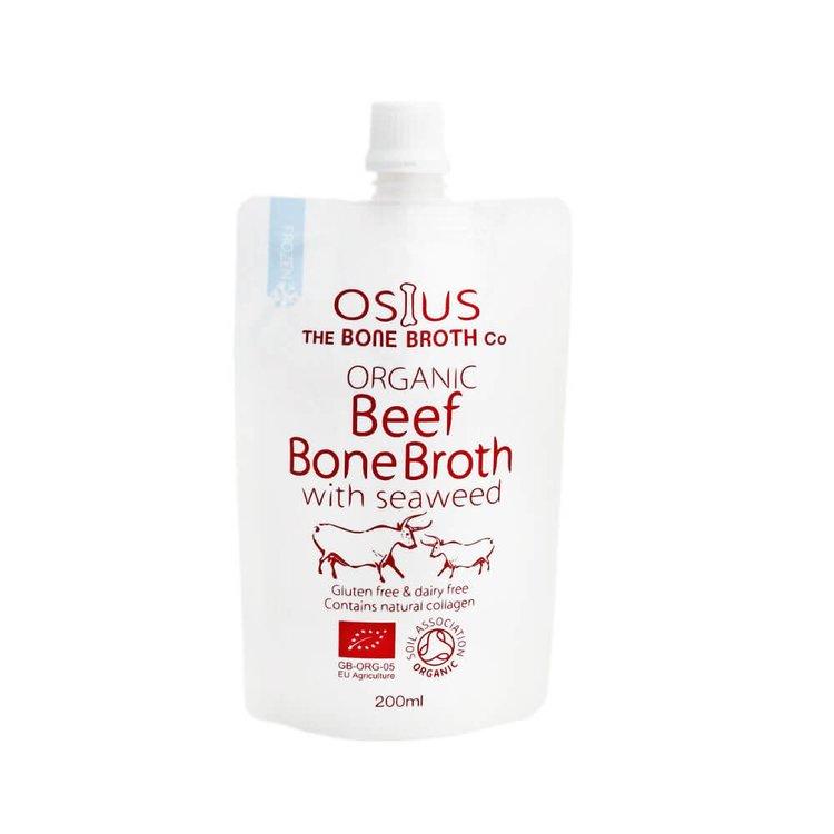 Organic Beef Bone Broth with Seaweed 200ml by Osius