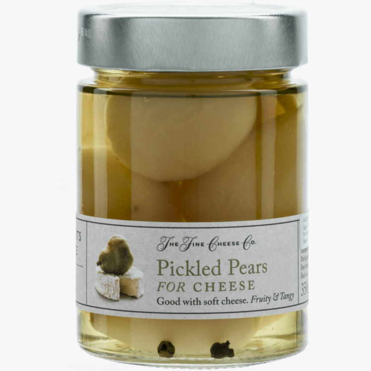 Pickled Pears for Soft Cheeses 350g by The Fine Cheese Co.
