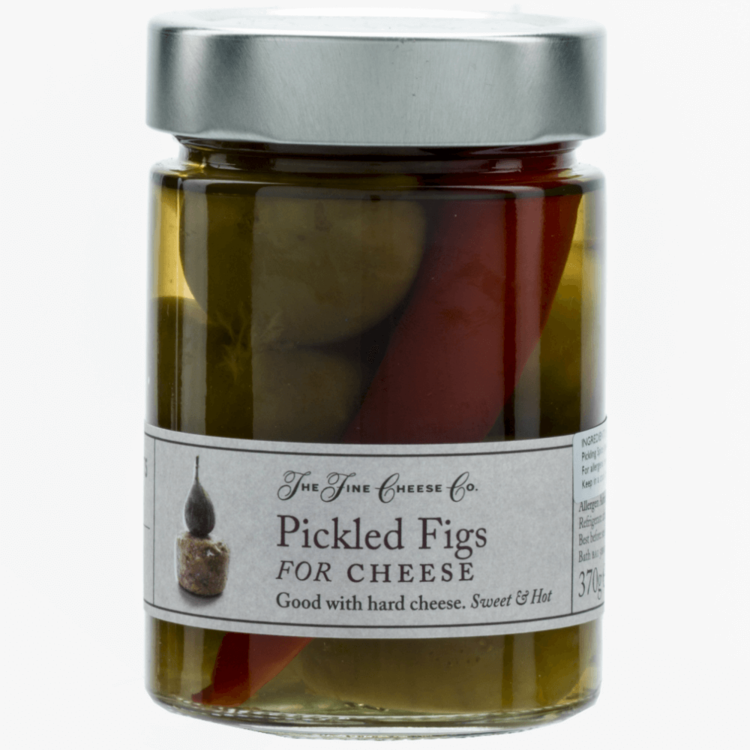 Pickled Figs for Hard Cheeses 370g by The Fine Cheese Co.