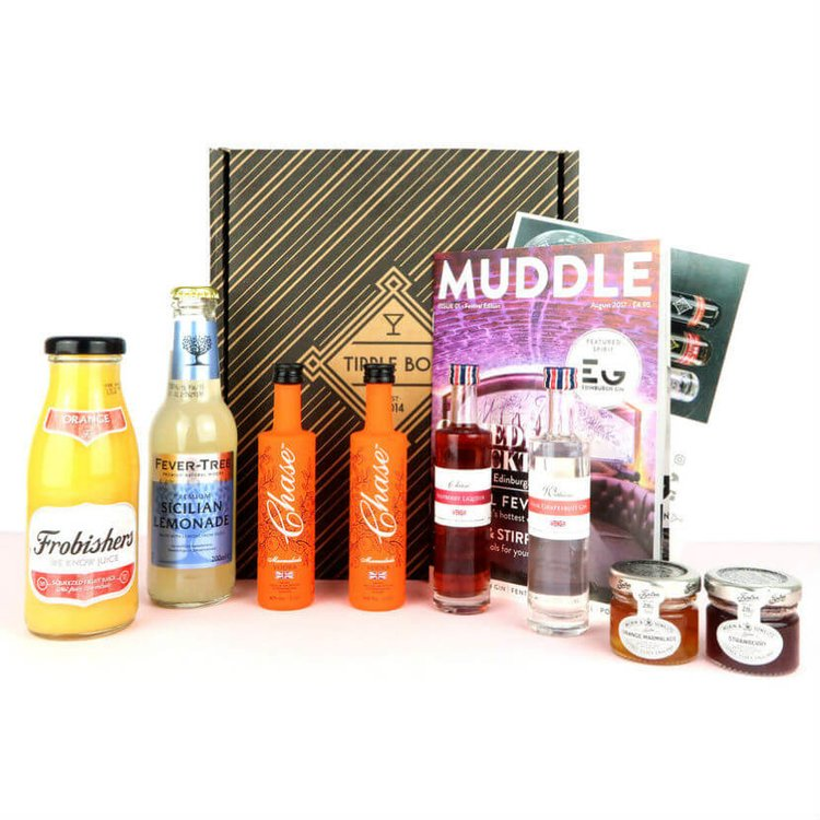 Craft Cocktail Gift Set with Jam, Marmalade & Vodka