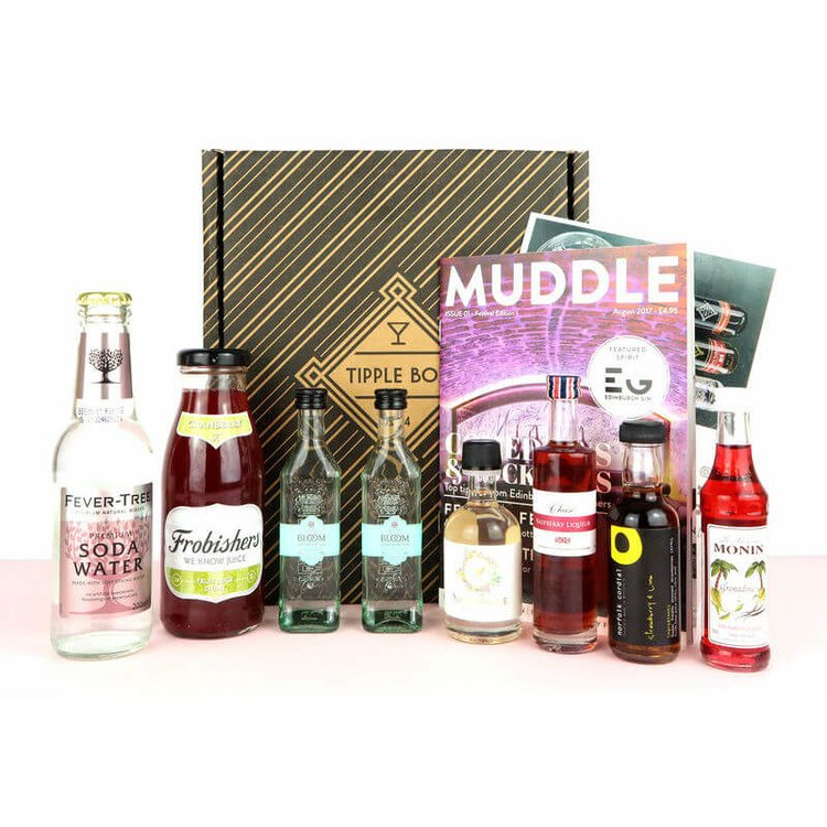 Southside Mojito & Raspberry Sling Gin Cocktail Gift Set