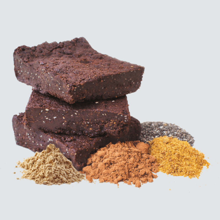 6 x Organic Chocolate Brownies 65g by Tyler & Hall