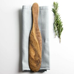 Traditional Olive Wood Pancake/Omelette Spatula (29cm)