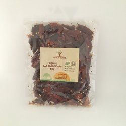 De-stemmed Whole Red Chilli 50g (Organic)