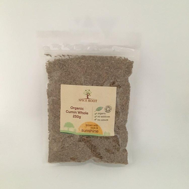 Organic Premium Cumin Seeds 250g