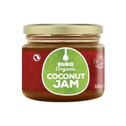 Coconut Jam 330g by Buko (Organic) with Coconut Milk & Coconut Nectar