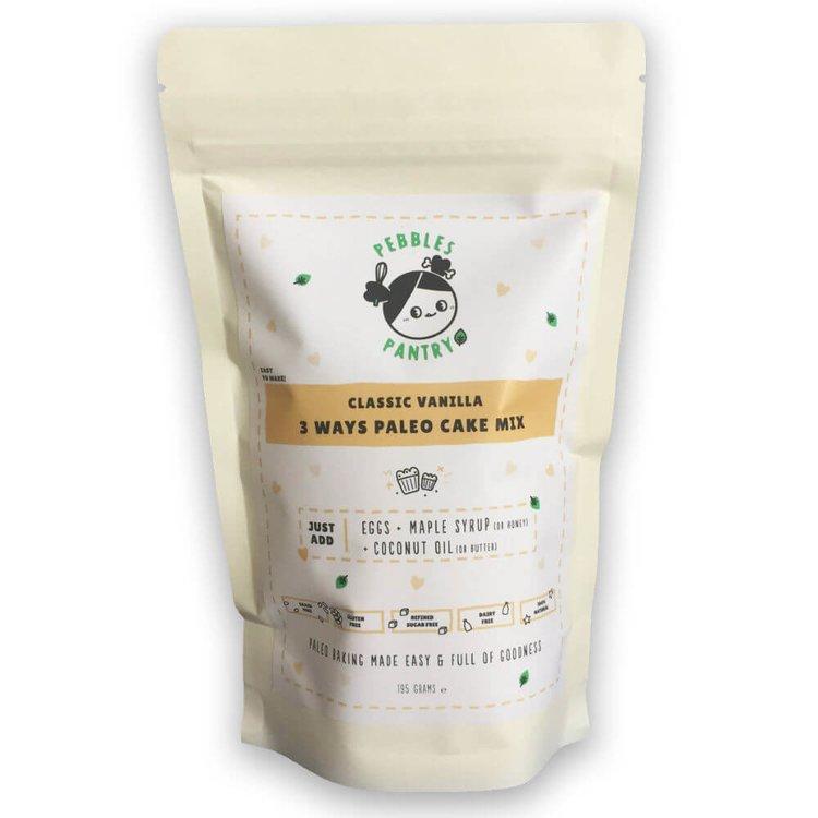 Classic Vanilla Paleo Cake Mix 195g with Almond Flour & Coconut Flour