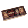 Cheese & Biscuit Party Pack Gift Set (Inc. Chutney & Heart-Shaped Cheddar) by Godminster