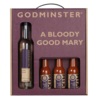 Bloody Good Mary' Gift Set by Godminster Inc. Horseradish Vodka & Spicy Tomato Juice