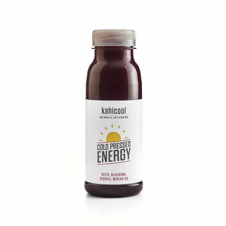 12 x Cold-Pressed Energy Juice Drink with Beets, Blueberry, Acerola & Matcha 250ml