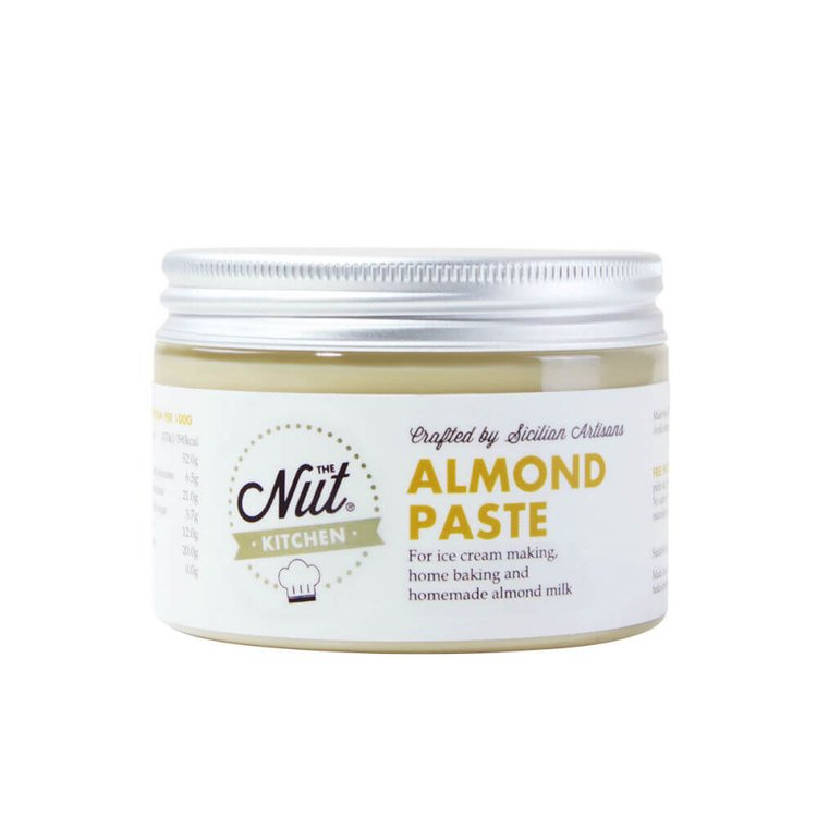 Almond Paste 150g with Sicilian Avola Almonds (For Making Ice Cream, Almond Milk & For Baking)