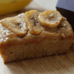 6 x Handmade Mini Banana Loaf 87g (Gluten-free)