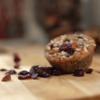 6 x Handmade Blueberry 'Moons' Muffins 75g (Gluten-free)