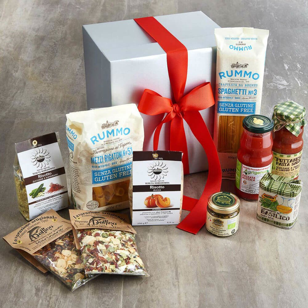 Vorrei italian hampers gluten free five minute italian meals gift gluten free five minute italian meals gift box inc pasta san marzano tomatoes risotto sauces negle Choice Image