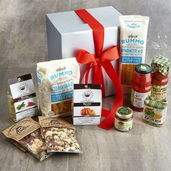 Gluten-Free Five Minute Italian Meals Gift Box Inc. Pasta, San Marzano Tomatoes, Risotto & Sauces