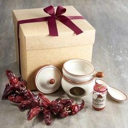 Calabrian Spicy 'Nduja Gift Box with 'Nduja Warmer (Scalda 'Nduja)