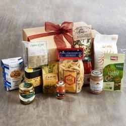 Italian Food Cupboard Staples Inc. Olive Oil, San Marzano Tomatoes & Caputo Extra Fine '00' Flour