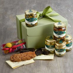 'A Taste of Sicily' Gift Box Inc. Cedrata, Vegetable Caponata & Modican Chocolate